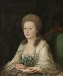 Unknown 2. Half of 18. Century. Ladies portrait