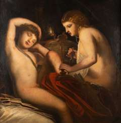 MYTHOLOGICAL SCENE OF TWO LOVERS