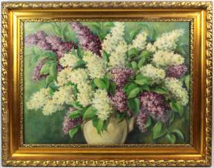 Lilac bouquet - unknown artist