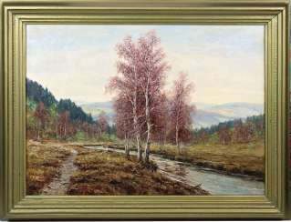 In the ore mountains - signed