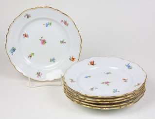 Set *Flowers* Belleville City Of Meissen