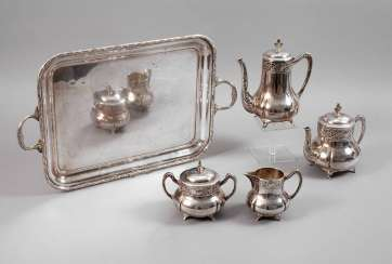 WMF coffee/tea set with tray