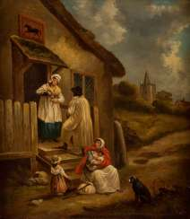 GEORGE MORLAND (COPY AFTER) 1763 London - 1804 Brighton