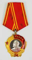 Soviet Union: Order Of Lenin, 5. Model, 1. Type.
