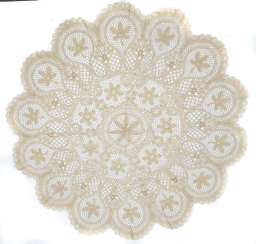 round lace blanket