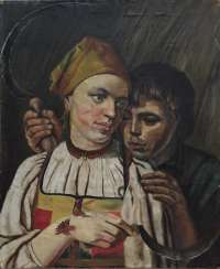 Old copy of the painting by A. G. Venetsianov