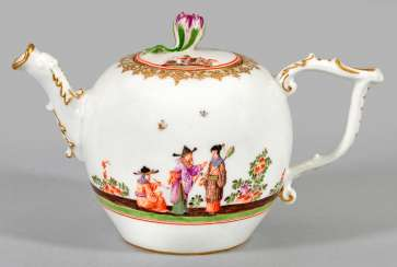 Teapot with Hoeroldt-Chinoiserien
