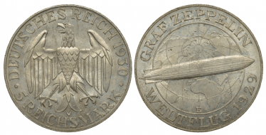 GERMANY 5 MARK 1930 F