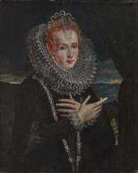 Flemish (?) - Portrait of a noble lady, 17th century