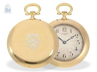 Pocket watch: Cartier rarity, the smallest known Cartier,