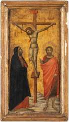 CRUCIFIXION OF CHRIST WITH MADONNA AND JOHN THE BAPTIST