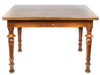 Walnut table, around 1900