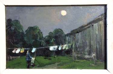 "Kochev A. A. ""Evening wash"", 1984"
