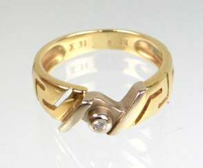 Meander Ring - Yellow Gold 585