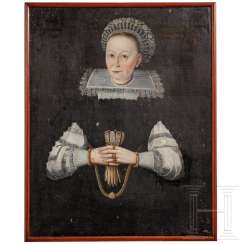 Portrait of a Lady, German, dated 1639