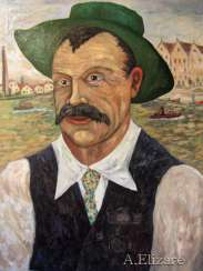 Portrait of the artist Albert Marquet
