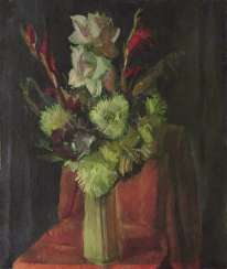 """Flowers in a vase"""