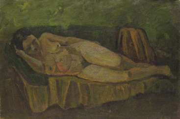 """Nude on the sofa"""