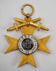 Bavaria: Military Cross of Merit, 1st class with swords.