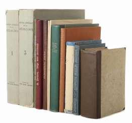 Collection of medical books 12-piece consisting of: Uebele