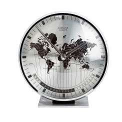 "KIENZLE ""table clock with world time"""