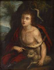 John the Baptist as a pilgrim
