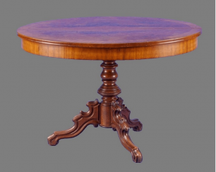 Table Germany, 1850, mahogany