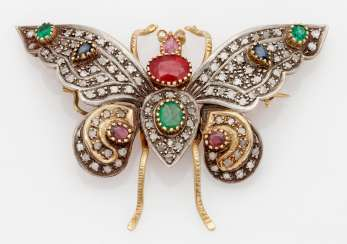 Russian Butterfly Brooch