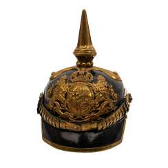 BAYERN - Pickelhaube with scale chain,