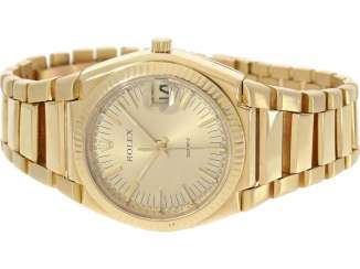 Watch: extremely rare 18K Gold Rolex oyster quartz Ref. 5100, No. 596, tuning fork factory, about 1970