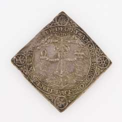 Saxony - Thaler cliff 1662, Johann Georg II., On the marriage of his