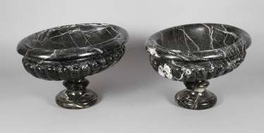 Pair Of Marble Bowls
