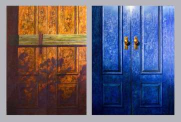 Diptych. Doors to the past and the future