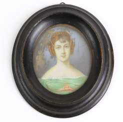 Miniature Portrait of Moscow in the 1830's