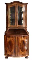 Baroque corner Cabinet to 1880/90