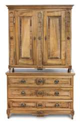 Louis XVI-top chest of drawers