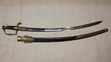 Saber of officer of the French model of the year XII (1804)