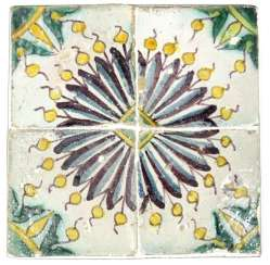 Tiled image of Spain around the year 1500.
