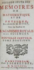 Memoirs of the Academie Royale des Sciences.
