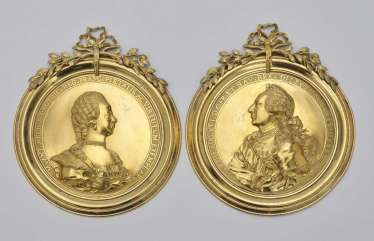 Ludwig XVI. and Marie-Antoinette, France, Royal Manufacture of the Charité sur Loire, about 1774