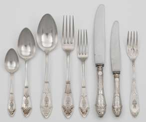 Rest of the Cutlery in the Empire style