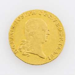 Bavaria/Gold 1 Ducat, 1803, Maximilian IV Joseph (1799-1806), with MAXIM in legend,