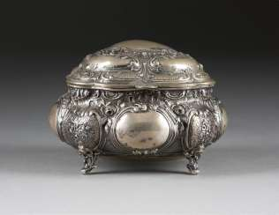 LARGE SUGAR BOWL IN THE ROCOCO STYLE