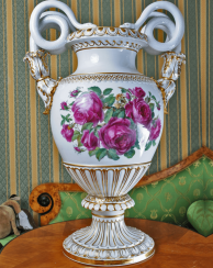 Meissen, Germany, 1910 - e gg, porcelain, double-sided painting