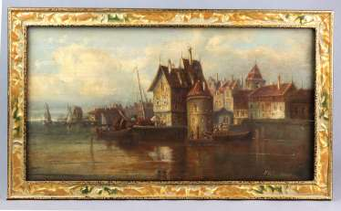 Paintings - Van Hoom, Ludwig Hermann