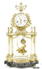 Mantel clocks end of XIX century