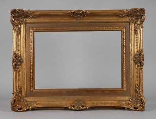 Gold stucco frame 1. Half of the 20. Century