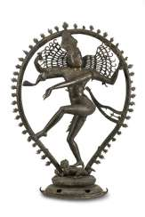 Large bronze figure of Shiva in Nataraja Form