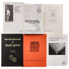 Six books in English about the whereabouts of objects from Reich Chancellor Adolf Hitler