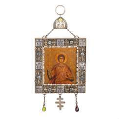 Rare Russian icon-the small icon. Moscow
